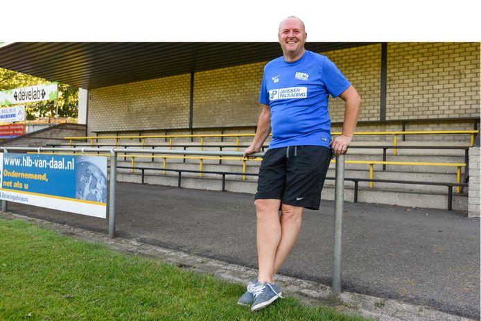 Hans Richters als coach van Baardwijk