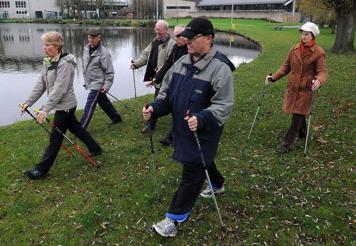 Dit jaar omvat het aanbod ook Nordic walking