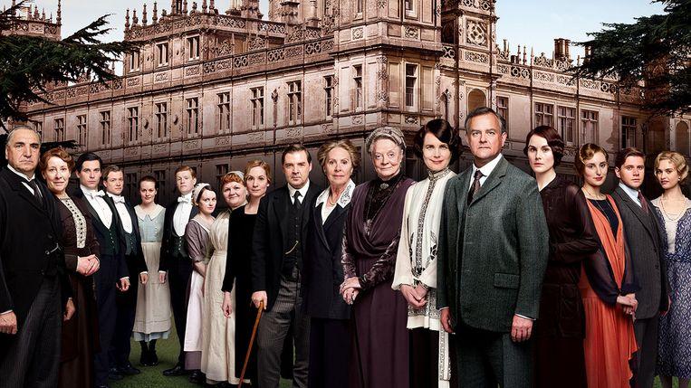 De serie Downton Abbey. Beeld Downtown Abbey