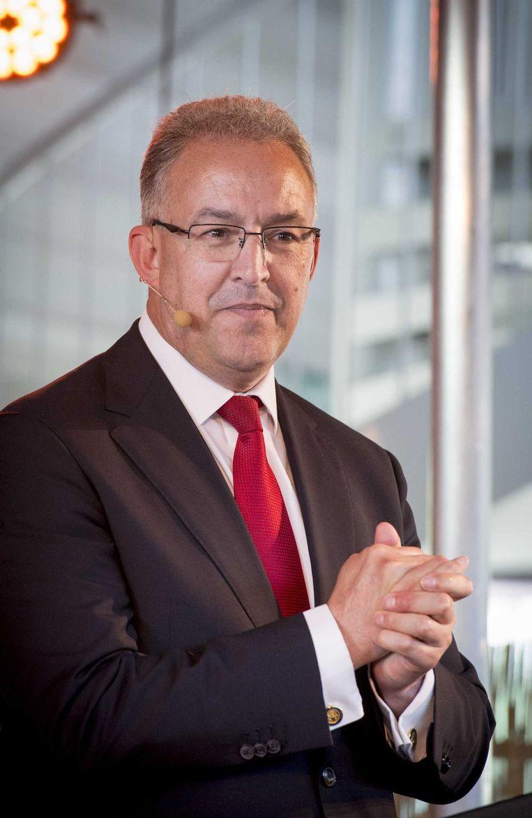 Burgemeester Ahmed Aboutaleb. Beeld anp