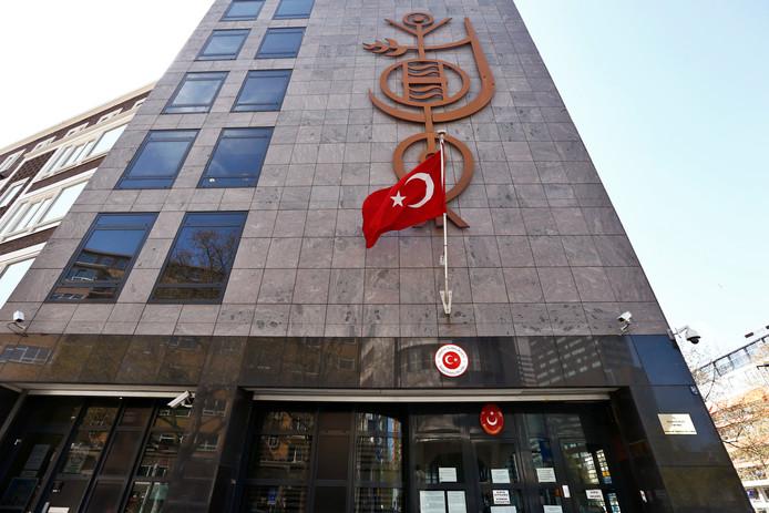 Het Turkse consulaat.