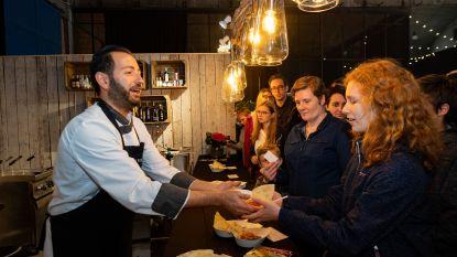 Veel volk op eerste dag culinair festival Antwerpen Proeft