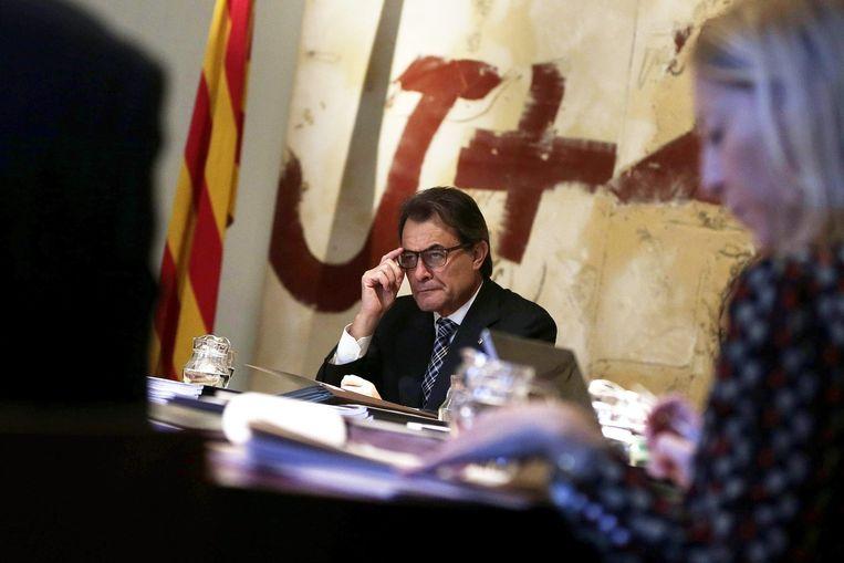 Catalaanse president Artur Más. Beeld epa