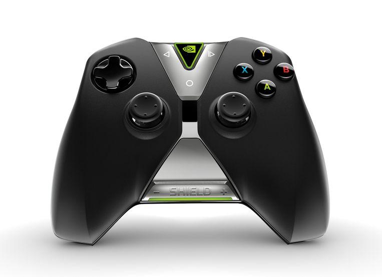 De Shield-controller lijkt op de Xbox-afstandsbediening. Beeld Nvidia