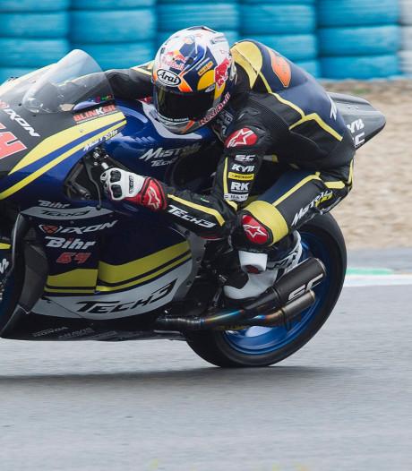 Bendsneyder begint Moto2 met plek 20 in kwalificatie