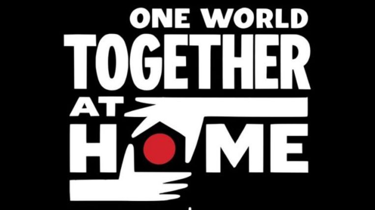 One World- Together At Home Beeld x