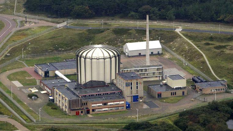 De kernreactor bij Petten die vorig jaar werd stilgelegd omdat hij te onveilig was. Beeld anp