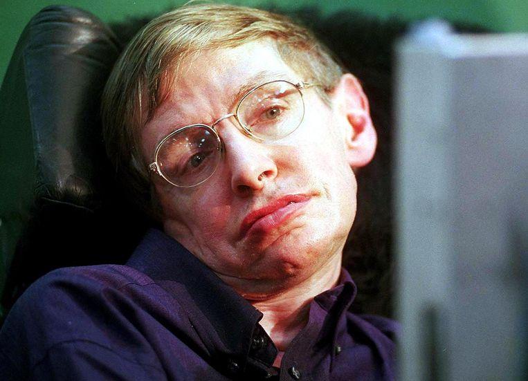 Stephen Hawking Beeld afp