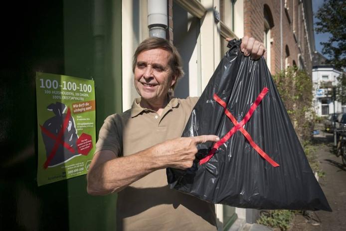 Jan Schreur van Stichting De Groene Vos. Foto Erik van 't Hullenaar