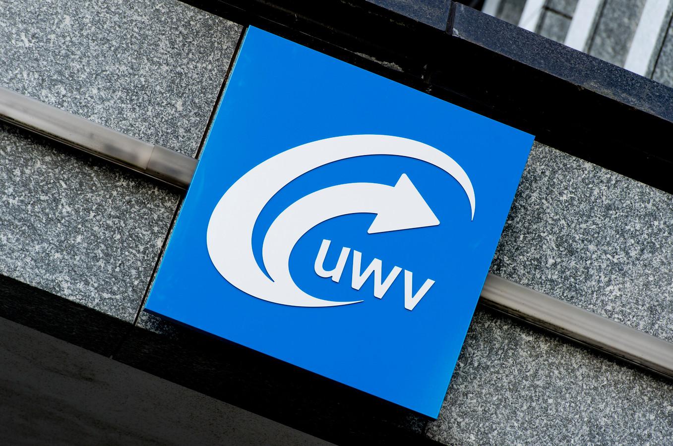 Het logo van het UWV.