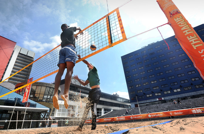 Archieffoto ter illustratie, WK beachvolleybal 2015 Den Haag