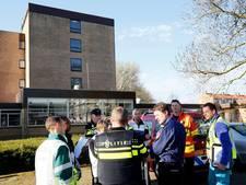 Oefenende hulpdiensten redden man met hartaanval