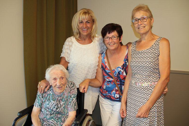 Hilda Declercq is met haar 105 jaar de oudste bewoner.