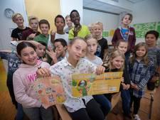 Ontwerpwedstrijd 'Sjors' gewonnen door Guusje van de OBS Ekenrooi