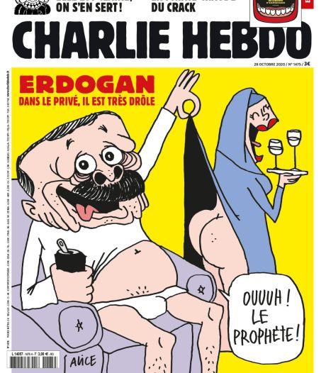 """Erdogan s'en prend aux """"vauriens"""" de Charlie Hebdo: """"Des bâtards"""", tweete un ministre turc"""
