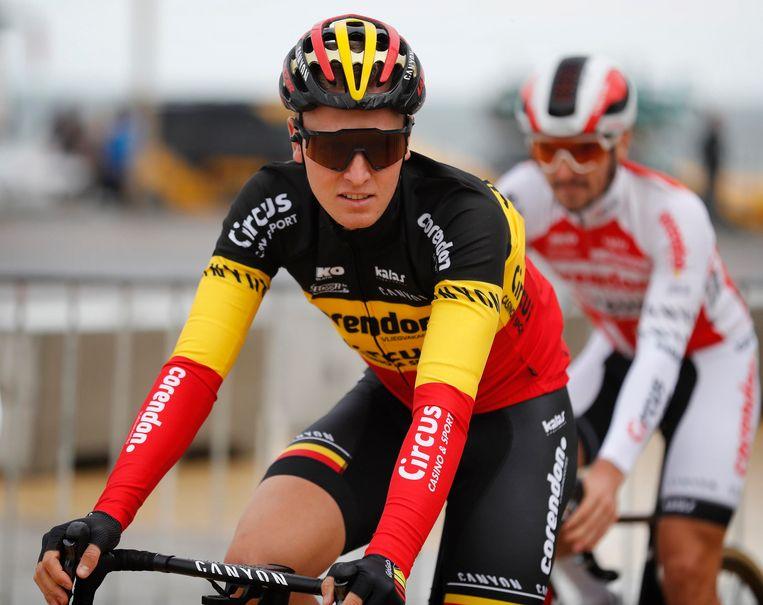Zal Tim Merlier zijn Belgische driekleur dit jaar nog kunnen verdedigen?