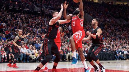 Rockets maken einde aan zegereeks Trail Blazers en bevestigen dat ze voorlopig de sterkste zijn