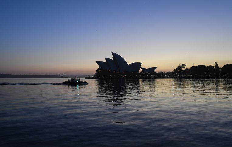 Het Opera House in Sydney.