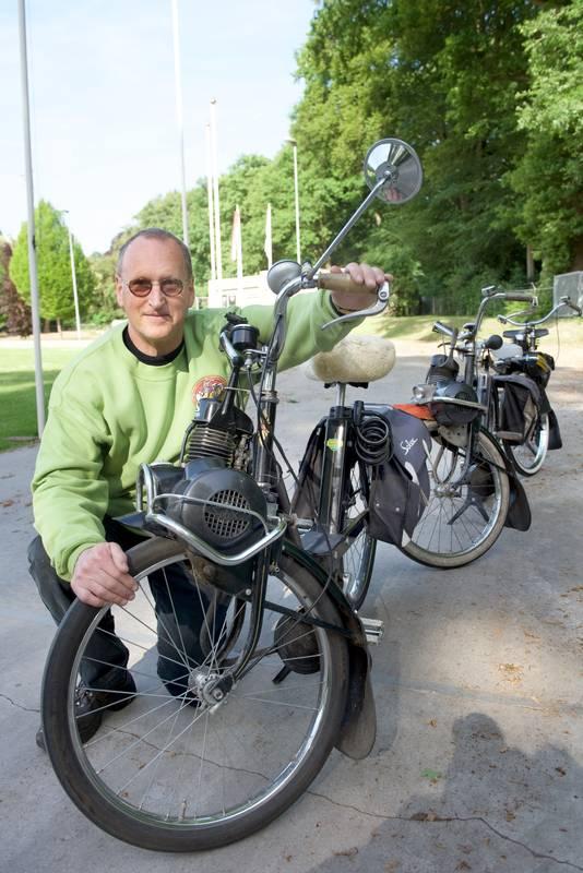 Frank Vonck: ,,Mijn zoon kwam toevallig met een Solex thuis, als het een Kreidler was geweest organiseerde ik daar een jubileum voor.''