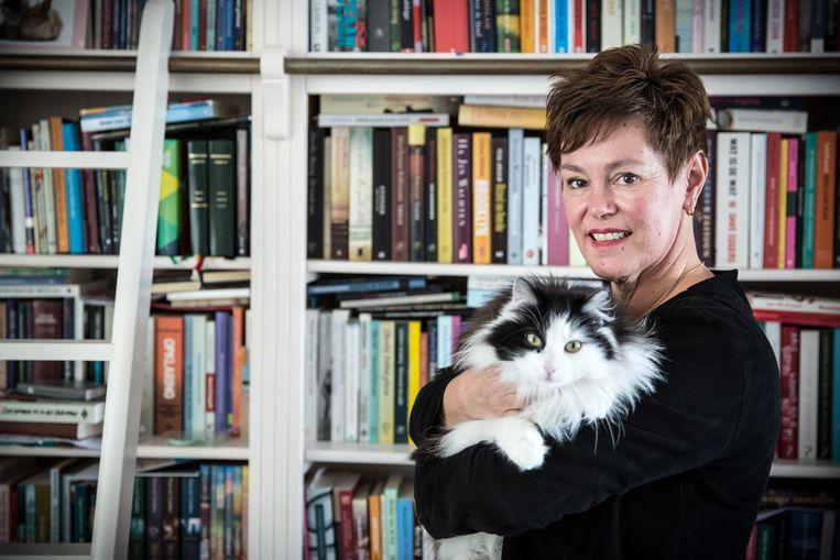 Saskia van Meggelen: 'Vertel gewoon wat je gelooft, wees trots, kruip uit je schulp.' Beeld Maikel Samuels