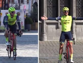 """Edward Theuns rijdt toch deel van het Ronde-parcours: """"Zou niet helemaal verrast zijn als seizoen voorbij is"""""""