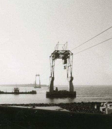 Plons! Daar ging weer een betonblok: de aanleg van de Haringvlietdam was een waar spektakel