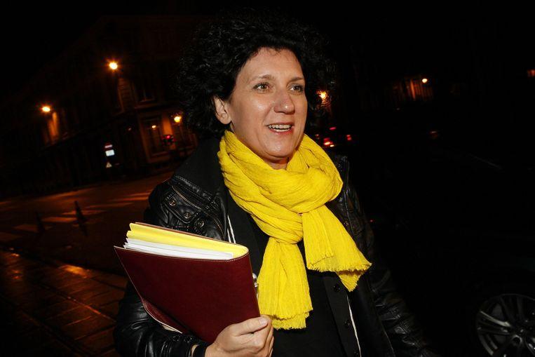 Minister van Binnenlandse Zaken Annemie Turtelboom (Open Vld)