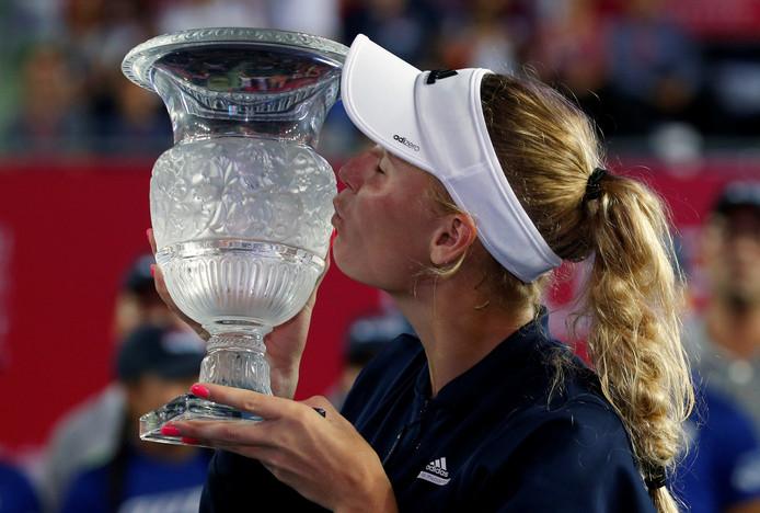 Caroline Wozniacki, winnares in 2016.