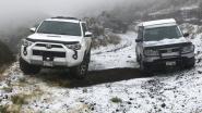 Zeldzaam schouwspel: sneeuw op Hawaï