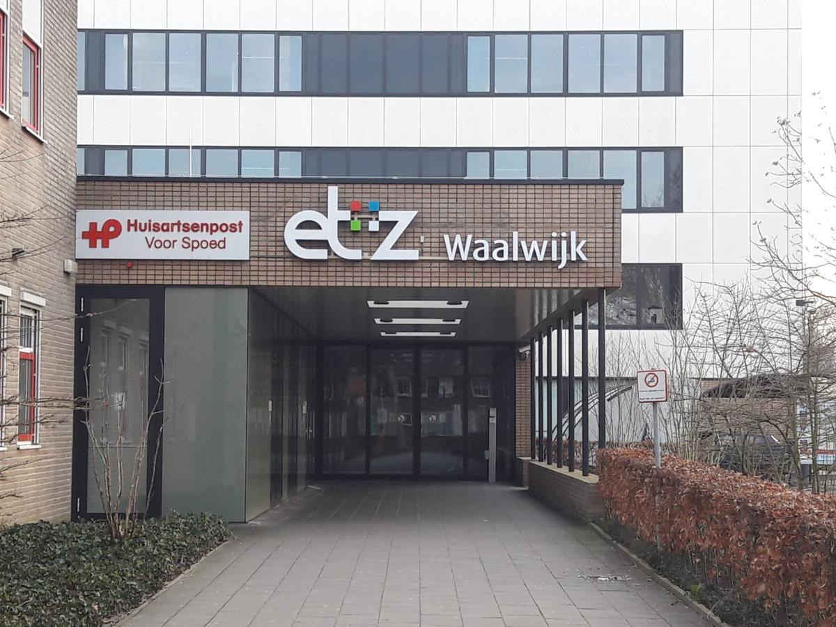 Het ziekenhuis in Waalwijk.