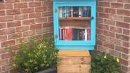 Boekenruilkastje in de Margarethalaan