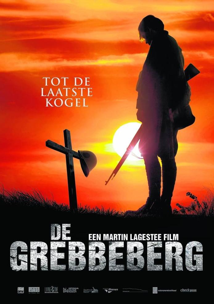 De poster van de film 'De Grebbeberg, Tot de laatste kogel'.