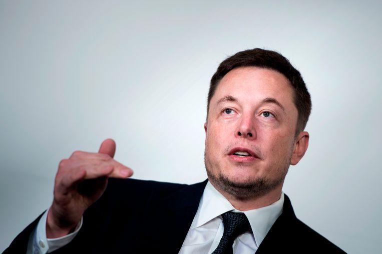 Tesla-topman Elon Musk.