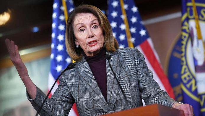 Nancy Pelosi, présidente de la Chambre des représentants.