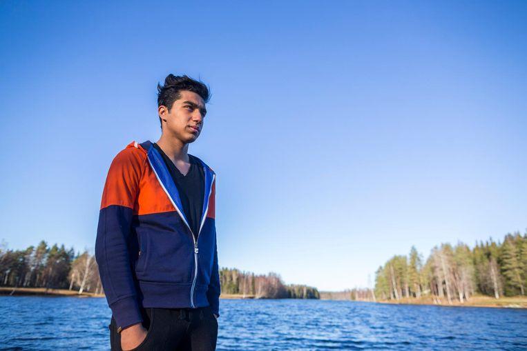 Mohammed is vertrokken naar Zweden. Beeld Rink Hof