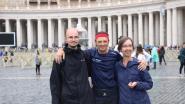 """Kankeronderzoeker Johan Swinnen bereikt Rome na looptocht van bijna 2.000 kilometer in 25 dagen tijd: """"Het extreemste dat ik ooit heb gedaan"""""""