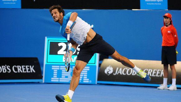 Routinier Lopez nog in actie op de Australian Open, inmiddels is hij met succes aan de slag in Quito.