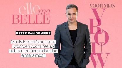 """Peter Van de Veire eert zijn vrouw: """"Jij hebt me geleerd te praten over dingen die in mijn hart en op mijn ziel dansen"""""""