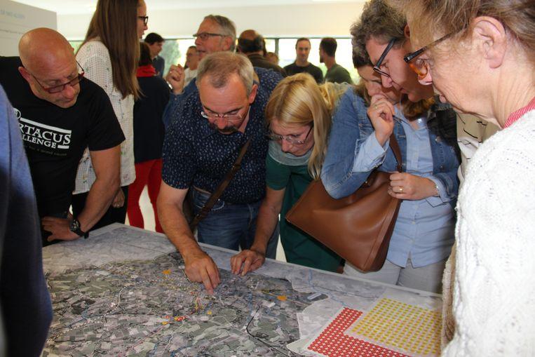 Rond Ronse: inwoners tonen op de kaart aan wat volgens hen de pijnpunten zijn op vlak van mobiliteit in Ronse.