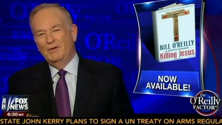 Fragment uit een uitzending van The O'Reilly Factor. Beeld Fox News