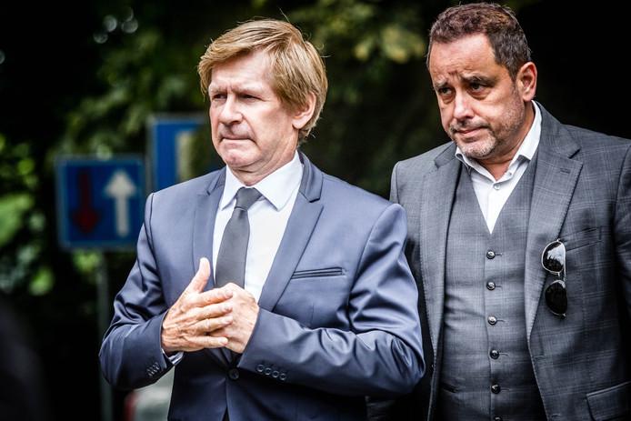 Addy van den Krommenacker (links)
