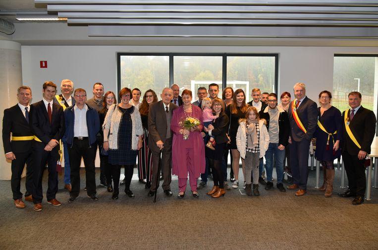 diamanten bruiloft Tervuren Adriaan Savelkoul en Christel Regendorp