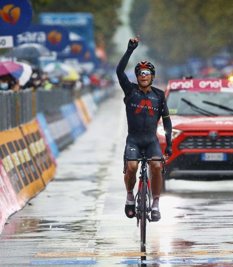 Jhonatan Narváez gagne la 12e étape du Giro, Jorge Almeida toujours en rose