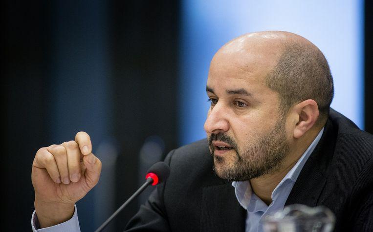 Ahmed Marcouch, PvdA-kamerlid, indiener verbodsmotie. Beeld null