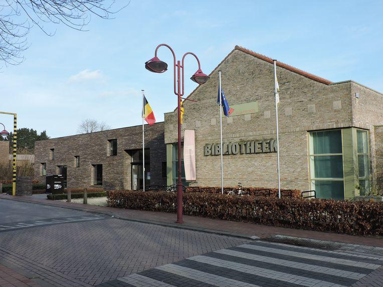 De bibliotheek van Landegem.