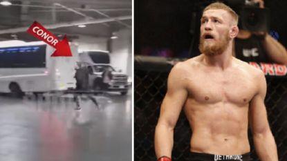 McGregor ontspoort helemaal: Ierse kooivechter geeft zichzelf aan nadat politie hem zocht voor deze bizarre actie
