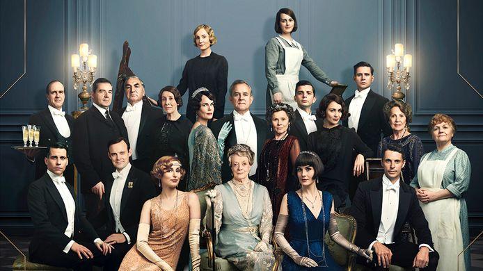De cast van 'Downton Abbey'