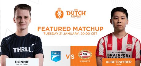 League of Legends-team PSV debuteert vanavond