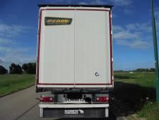 Dieven met truck stelen oplegger van Giessens transportbedrijf