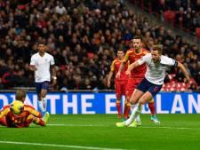 Engeland dankzij hattrick Kane met monsterzege naar EK